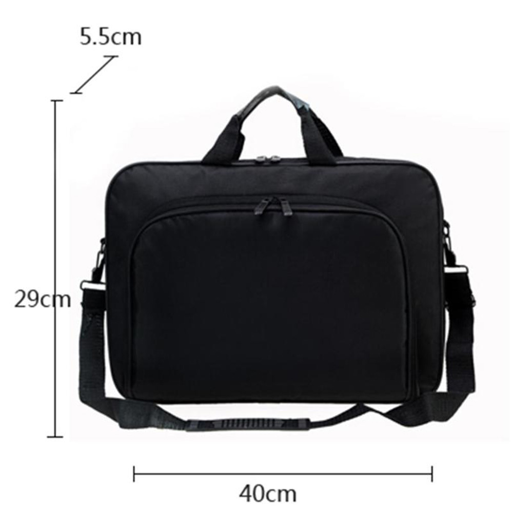 Waterproof Simple Men Briefcases Business Nylon Computer Bag Handbags Portable Zipper Shoulder Laptop Bags Men Shoulder Bags