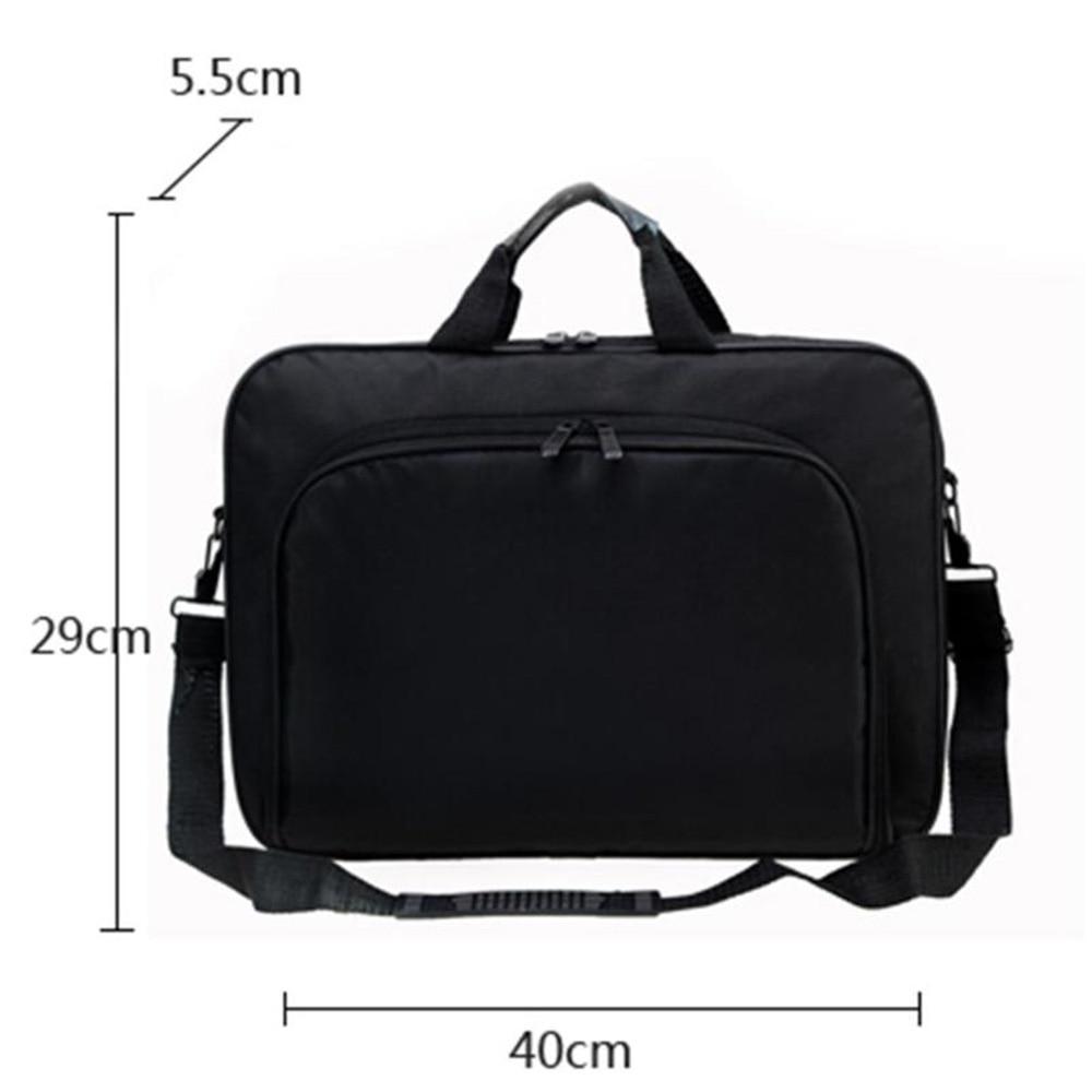 Waterproof Simple Men Briefcases Business Nylon Computer Bag Handbags Portable Zipper Shoulder Laptop Bags Men Shoulder Bags