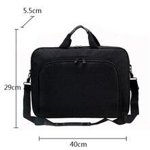 Waterproof Simple Men Briefcases Business Nylon Computer Bag