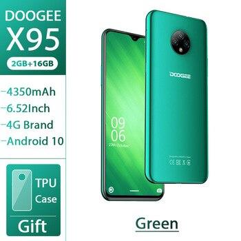 Перейти на Алиэкспресс и купить DOOGEE X95 смартфон 6,52 ''MTK6737 2 Гб 16 Гб 13 МП Тройная камера 4350 мАч Android 10 OS 4G LTE мобильный телефон