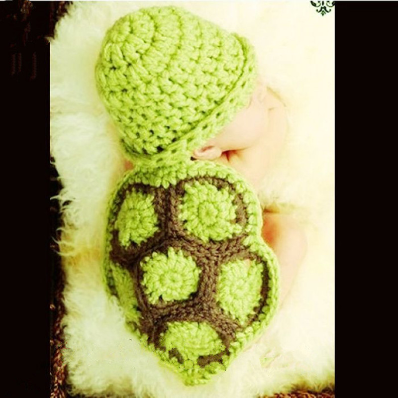 Newborn Baby Cartoon Photography Prop Clothing Infant Manual Sweater Girls Knitting Suit For Baby Clothes 0-3M