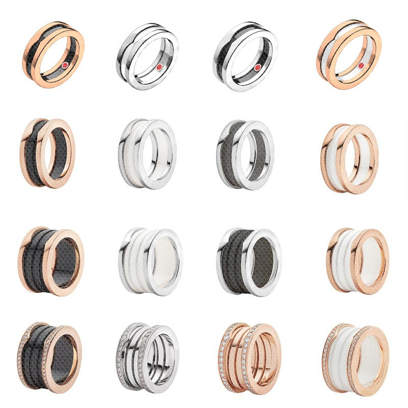 Charm original ring, classic micro-label, charity series jewelry, excellent craftsmanship 1:1
