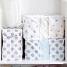 Складная сумка для хранения одежды декоративное полотенце шкаф Органайзер для свитера коробка, мешочек одежный шкаф контейнер модная распродажа Прямая поставка