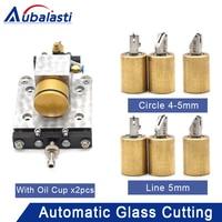 Aubalasti Full Automatic Glass Cutting Machine Double Column Cutter Box With Oil Cup CNC Cutter Box