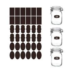 Etiquetas apagáveis impermeáveis do quadro-negro das etiquetas da etiqueta do quadro-negro dos pces 180 para a rotulagem