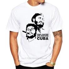 2020 uomo New Fashion Che Guevara e Fidel hawt-shirt stampata manica corta T-shirt Casual top dal Design accattivante