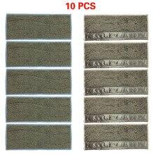5/10 قطعة وسادات جاف/رطب قابلة للغسل لآي روبوت برافا جيت M6 (6110) متوافق مع سلسلة برافا جيت إم مكانس كهربائية للكنس acce قابل للتكرار