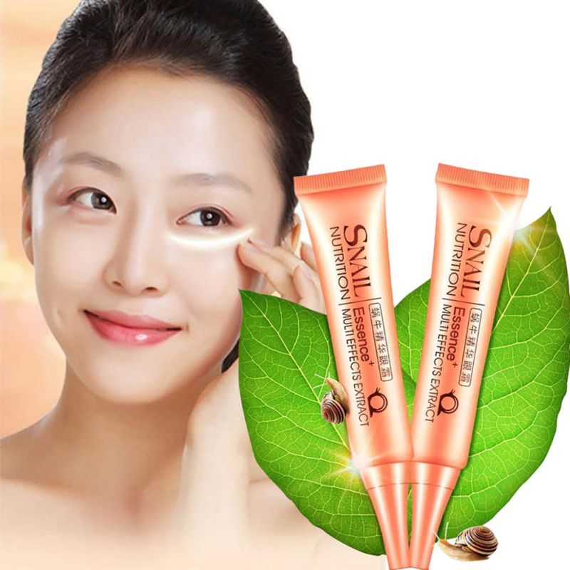 30g Snail Essence Eye Cream Eye Sacoche Femme For Anti-Dark Circle Removing Puffiness Wrinkle Eyes Ojeras