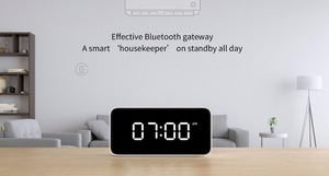 Image 5 - Original Xiaomi Mijia Xiaoai Smart Voice Broadcast Alarm Clock Work with Mi Home App White