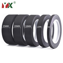 YX 1PCS Black Acetic Acid Adhesive Tape Flame Retardant High Temperature Insulating Acetate Cloth Tape For LCD Repairing