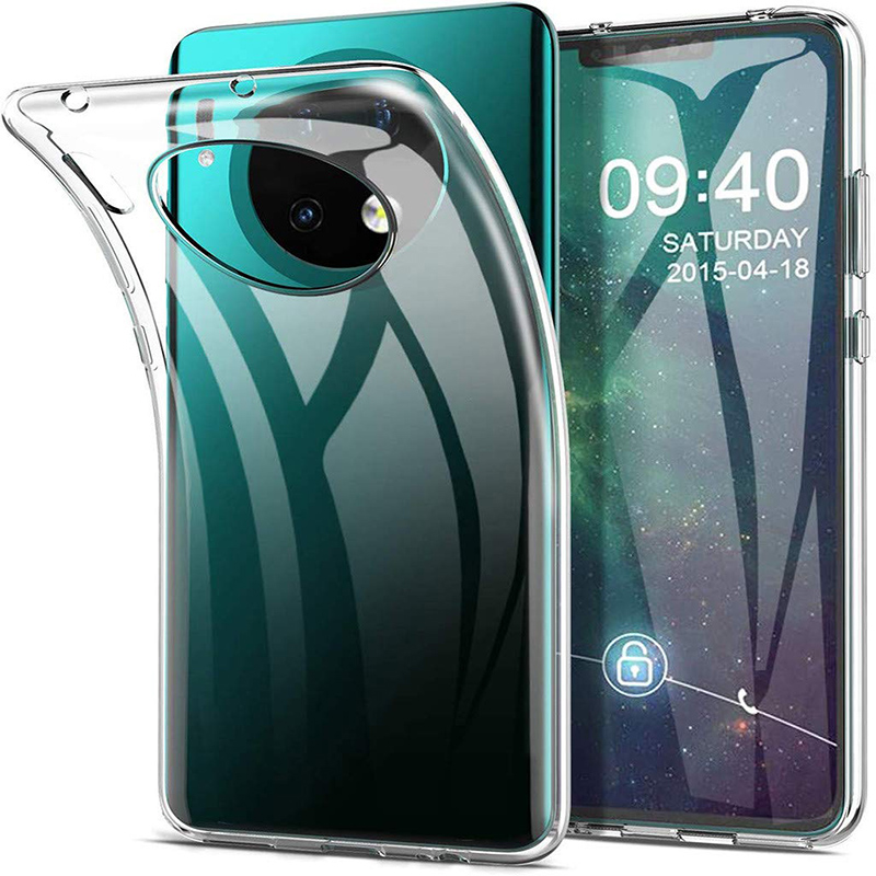 Transparent Silicone TPU Shockproof Case For Huawei Mate 30 30Pro 30Lite Pro Lite 5G Soft Phone Back Cover 360 Protective Mate30