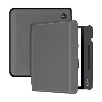 Smart Case Magnetic Cover e-Reader Funda Skin for KOBO Libra H2O Accessories