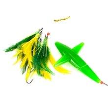 Рыболовная приманка, перо, Троллинг, юбка, приманка в виде тунца для большой игры, рыболовная снасть, с крюком из нержавеющей стали, разные цвета