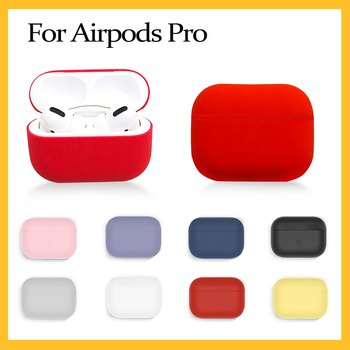 Silicone Cover Case For Apple Airpods Pro Case Sticker Bluetooth Case for Airpod 3 For Air Pods Pro Earphone Accessories image