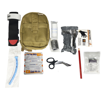 Survival Pouch Outdoor Medical Box MINI Size SOS Traini Bag/Package Tactical First Aid Bag Medical Kit Bag Molle EMT Emergency