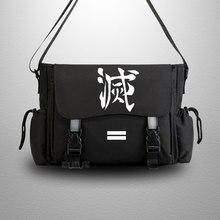 Messenger-Bag Kimetsu Cosplay No-Yaiba Hashibira Casual Anime for Men Teenagers Slayer