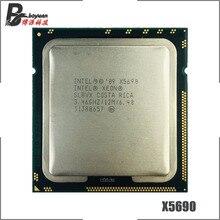 Intel xeon x5690 3.4 ghz processador cpu de seis núcleos 12 m 130 w lga 1366