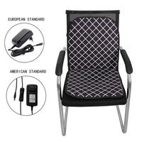60W Heated Seat Cushion Cover Seat ,Heater Warmer , Winter Household Cushion Cardriver Heated Seat Cushion for Home Office Seat