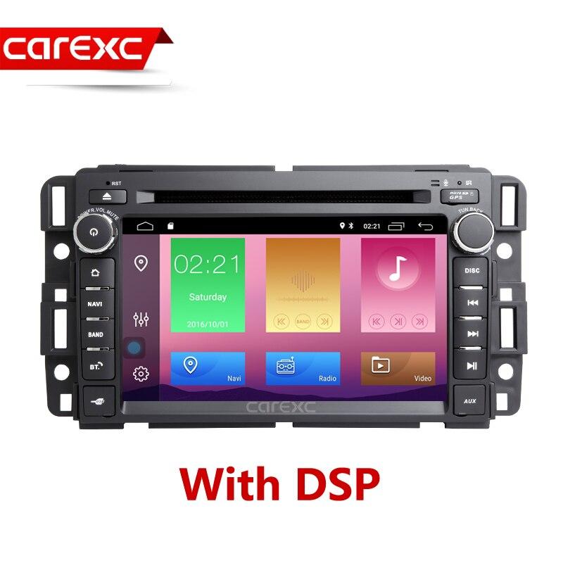 Système de Navigation GPS Autoradio DVD Android pour Buick/Chevrolet/GMC Acadia Denali Savana Sierra Yukon unité de lecteur multimédia de voiture
