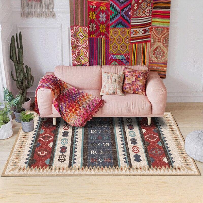 Tapis et moquettes nordiques pour la maison salon tapis rouge tapis chambre tapis tapis pour salon tapis chambre