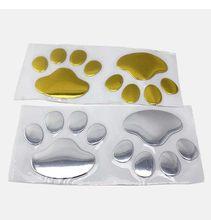 Дешево! так дешево! Новый 3D стерео стикер для автомобиля с изображением кошки/собаки Декоративные наклейки для автомобиля из ПВХ