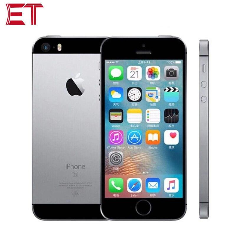 "Original Neue Entsperrt Apple iPhone SE A1723 LTE Handy 4,0 ""2 GB RAM 64GB ROM Dual- core Fingerprint 1642mAh Smart Telefon"