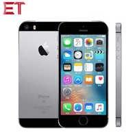 Original nuevo desbloqueado Apple iPhone SE A1723 LTE teléfono móvil 4,0 2 GB RAM 64GB ROM Dual-core huella dactilar 1642mAh teléfono inteligente