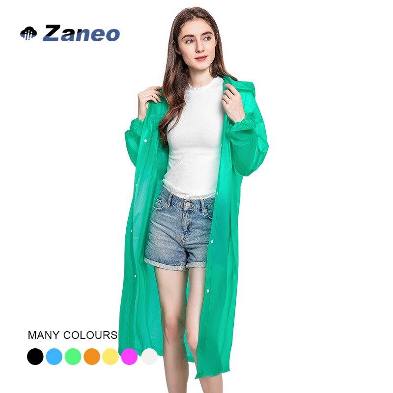 140 г портативный зеленый экологически чистый многоразовый PEVA прозрачный модный Открытый пончо для мужчин и женщин плащ
