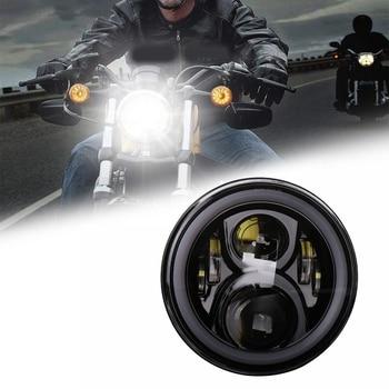 1Pcs 12V/24V 7 Inch Led Headlights for Honda Motorcycle Headlights