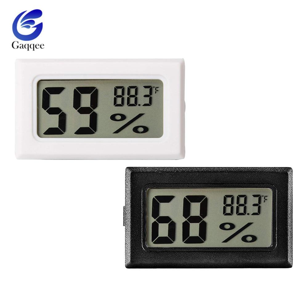 Mini Digital Thermometer Humidity Meter Room Temperature Indoor LCD Hygrometer U