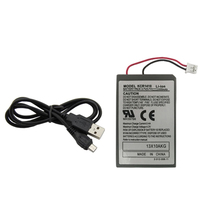U-KIME Gamepad Battery Pack For Sony Playstation PS4 Dualshock 4 Wireless Controller Replacement Batteries CUH-ZCT1E CUH-ZCT1U