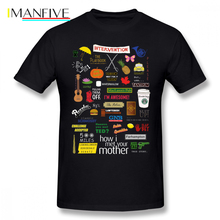 Bet T Shirt How I Met Your Mother T-Shirt Cotton Mens Tee Shirt Short Sleeve Big Graphic Cute Beach Tshirt how i met your mother casual o neck men s basic short sleeve t shirt 100% cotton tee shirt printed