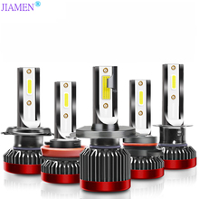 JIAMEN Super Bright Car Headlights H7 LED H4 led H1 H8 H11 HB3 9005 HB4 9006 Auto Bulb 110W 28000LM Automobiles Headlamp 6000K