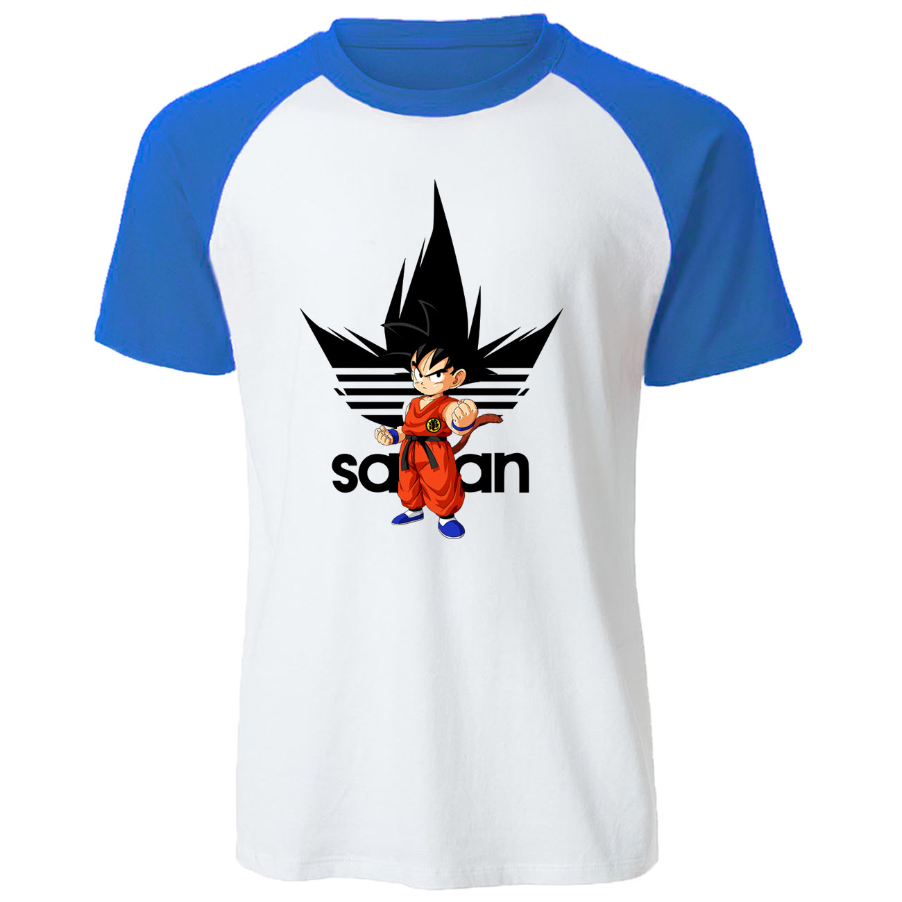 DragonBall Z Raglan Tops Dragon Ball T Shirt Dragonball Dbz Son Goku Tshirt Japanese Anime T-shirt Men Harajuku Casual Tee Shirt
