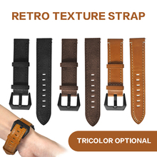 Men Fashion PU Leather Replacement Watch Band Strap for Huami Amazfit GTS  Smart Accessories