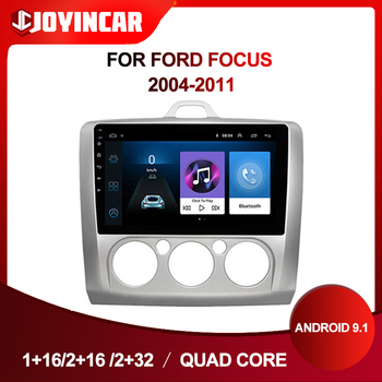 2Din Android 9.1 Car Radio Multimedia Player Navigation GPS For ford focus EXI MT 2 3 Mk2 2004-2011 Car Audio Autoradio Wifi BT image