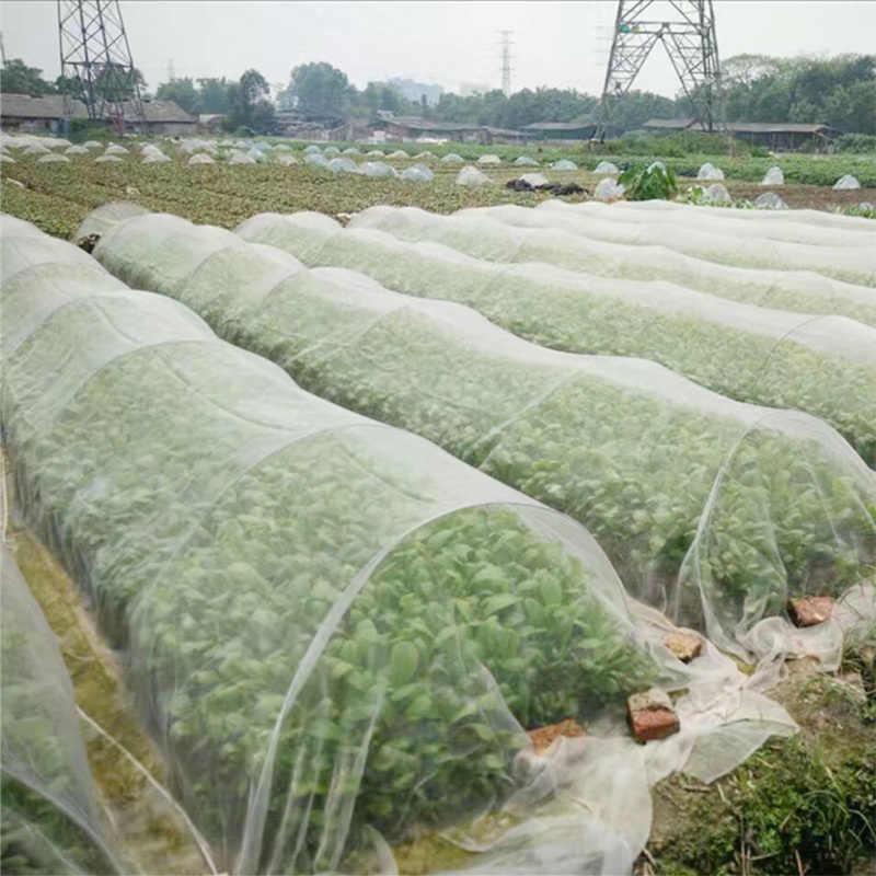 Garten Gemüse Insekten Net Abdeckung Pflanze Blume Pflege Schutz Netzwerk Vogel Insekten Pest Prävention Control Mesh 6/10M lange