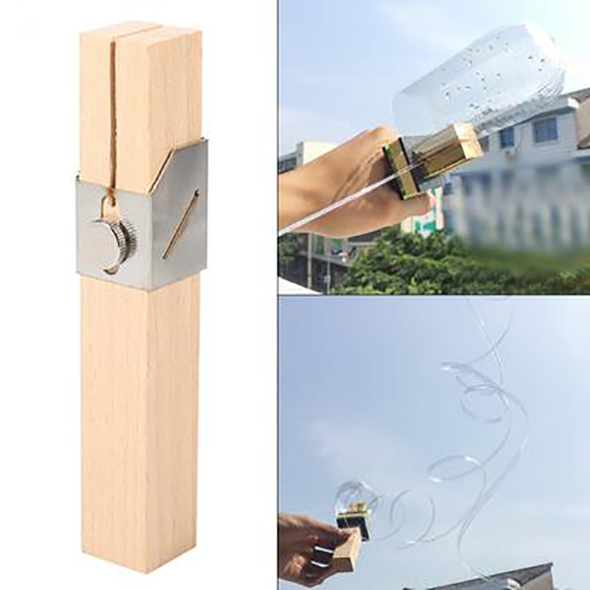 DIY Craft Handheld Cutter Knife Portable Smart Bottles Rope Cutting Tools Plastic Bottle Outdoor Environmental Protection