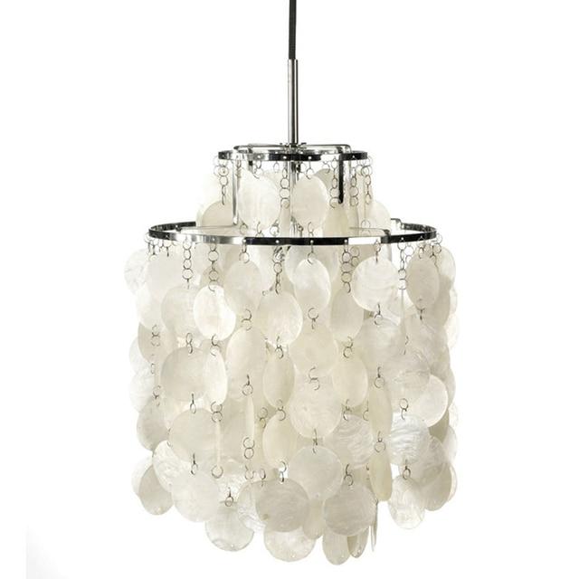 ธรรมชาติสีขาวโคมไฟจี้โคมไฟสาวห้องนอนตกแต่งแสง LED E27 ร้านอาหาร Cafe Hotel LOFT จี้ไฟ-ใน โคมไฟแบบห้อย จาก ไฟและระบบไฟ บน