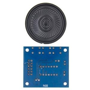 Image 5 - 50 ชิ้น/ล็อต ISD1820 การบันทึกโมดูลเสียงโมดูลเสียงคณะกรรมการโมดูล telediphone พร้อมไมโครโฟน
