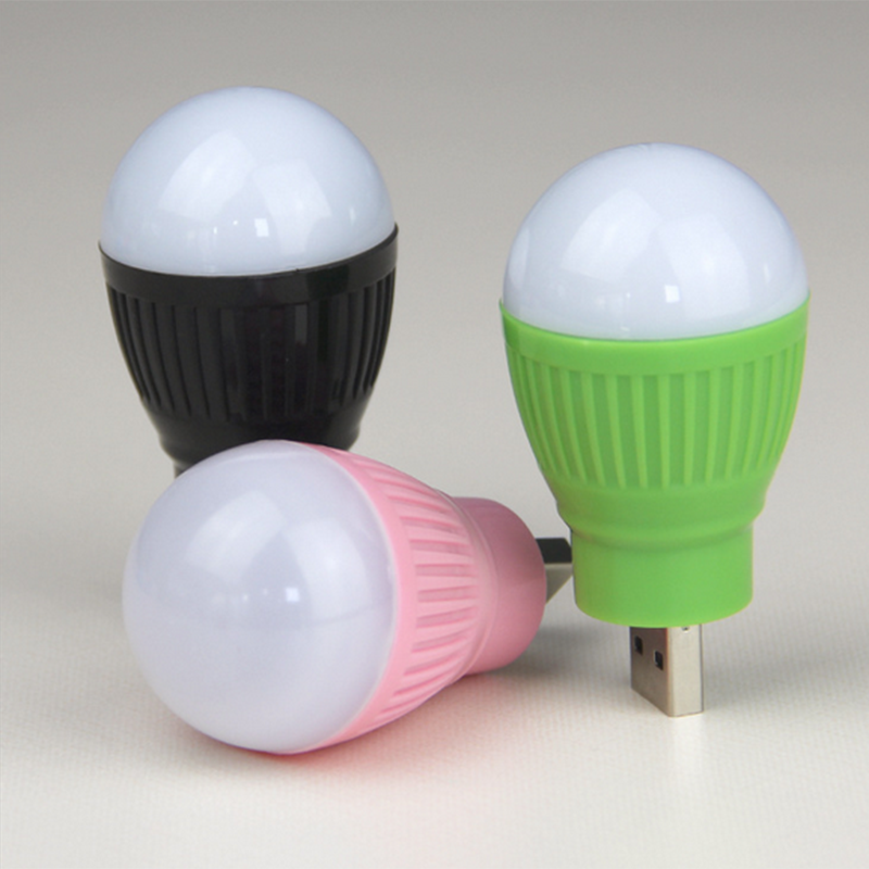 Mini USB LED Light Bulb Computer Lamp For  PC Reading Portable Flexible Book Lights Reading Light Lamp Super Bright USB Led NEW
