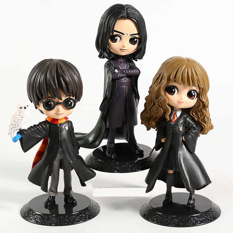 Q Posket Hermione Snape Q Versi PVC Sosok Collectible Model Mainan