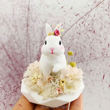 Original design cute handshake rabbit mold suit for making aroma plaster, clay,