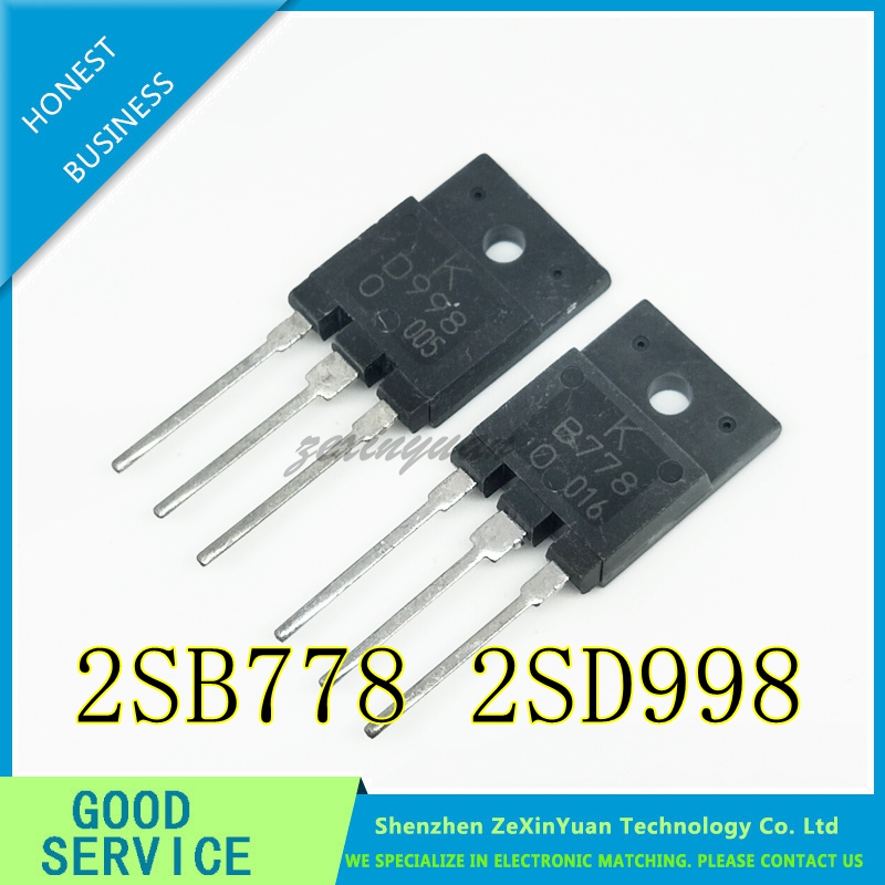 20PCS B778 D998 Paired Amplifier Tube Original 2SB778 2SD998 TO-3P