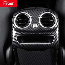 Air Condition Frame Cover for 2019 mercedes w205 amg Mercedes c class accessories interior trim benz carbon