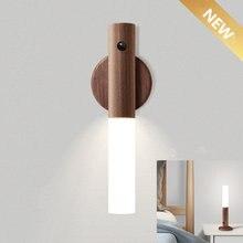 Индукционный Европейский настенный светильник s деревянный ночник