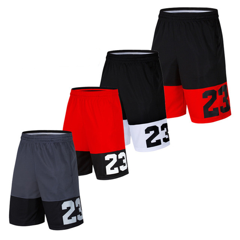 Basketball Shorts New Version High Quality No.23 Loose Beach Shorts Gym Training Plus Size 5XL Men's Quick Dry Running Shorts