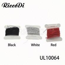 10m ul10064 26/ 28/30/32/ 34/36awg micro litz fio de solda com alta condutividade para aparelhos domésticos