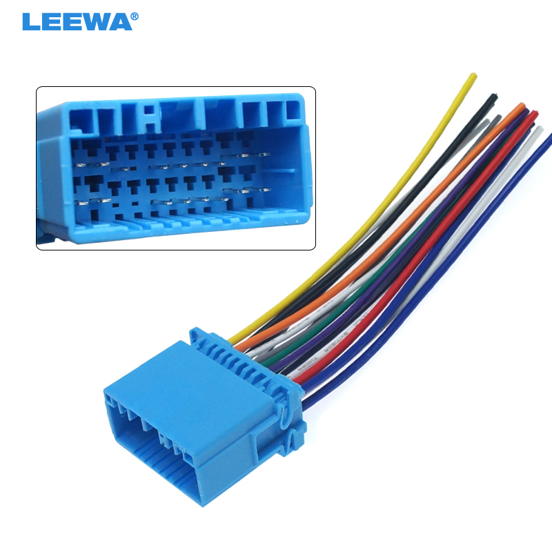 US $2.34 29% OFF|LEEWA Car Aftermarket Audio Radio Stereo Wiring Harness on 2005 honda civic stereo wiring, 1998 honda civic stereo wiring, 2000 dodge durango stereo wiring, 2000 honda civic stereo wiring, 1995 honda civic stereo wiring, 1997 pontiac sunfire stereo wiring, 1997 ford ranger stereo wiring,