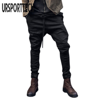 URSPORTTECH Streetwear Mens Joggers Pants Fashion Casual Harem Baggy Slacks Trousers Sportwear Men Plus Size S-3XL